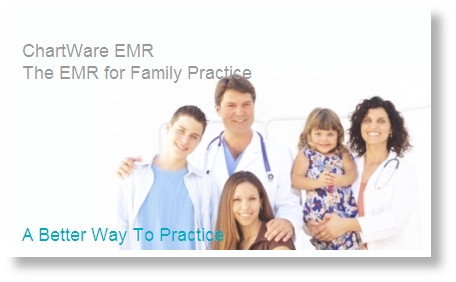 ChartWare EMR for Family Practice